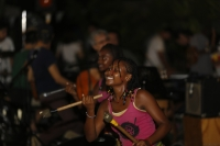 Bloco Malagasy dancers