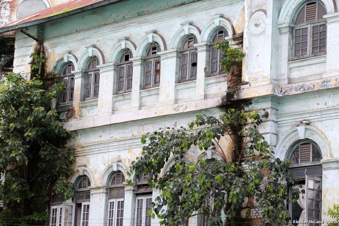 Colonial Buildings in Yangon