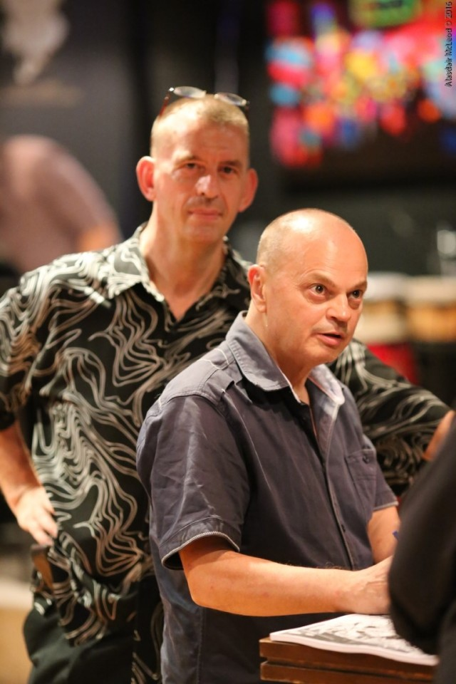 Peter Klashorst and Chris Gatto-Smith