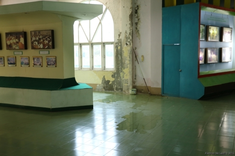 Poorly maintained facilities